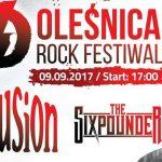 Oleśnica Rock Festiwal coraz bliżej. Zagrają Illusion i The Sixpounder