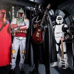 Darth Vader przed Ozzym Osburnem. Galactim Empire na Impact Festival