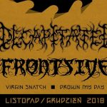 Decapitated, Frontside, Virgin Snatch i Drown My Day na Knock Out Tour