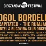 Gogol Bordello dołącza do składu Cieszanów Rock Festivalu