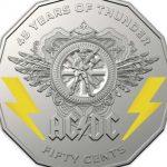 Australijki rząd uhonoruje AC/DC okolicznościowymi monetami